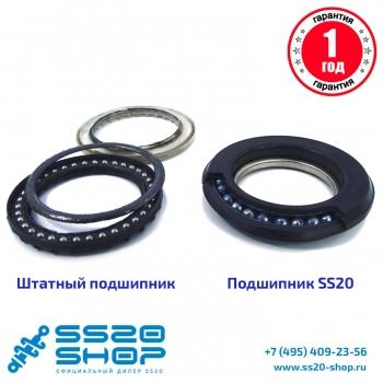 Опора стойки передней SS20 Мастер для ВАЗ 2170, 2171, 2172 Приора (с подшипником SS20) (к-т 2 шт)