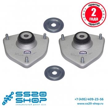 Опора стойки передней SS20 Мастер для ВАЗ 2192-2194 Лада Калина 2 БЕЗ ЭУР (к-т 2 шт)