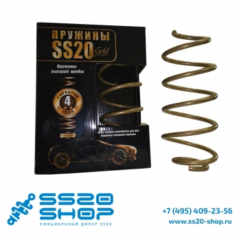 Пружины передней подвески SS20 серии Gold Progressive бочкообразные для ВАЗ 1117, 1118, 1119 с 16 кл Двигателем