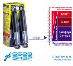 Амортизаторы задней подвески SS20 для ВАЗ 2101-2107 Классика