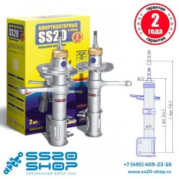 Стойки передней подвески SS20 для ВАЗ 2192-2194 Лада Калина 2 (к-т 2 шт)