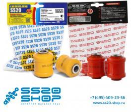 Полиуретановые шарниры нижнего рычага передней подвески SS20 для ВАЗ 2170-2172 Приора