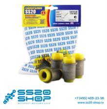 Полиуретановые шарниры нижнего рычага SS20 для ВАЗ 2121-31 Нива 4х4 (4 шт)