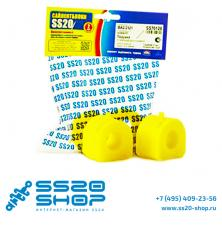 Полиуретановые подушки штанги стабилизатора (концевые) SS20 для ВАЗ 2121-31 Нива 4х4 (2 шт)