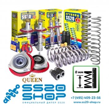 Комплект подвески без занижения для ВАЗ 2110-2112 с опорой Queen