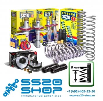 Комплект подвески без занижения для ВАЗ 2110-2112 с опорой ШС Hard Sport