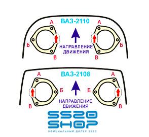 Установка угловых проставок SS20