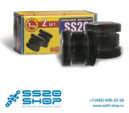 Сайлентблоки амортизатора переднего (нижние) ss20 для ВАЗ 2121-31 Нива 4х4 (2 шт)