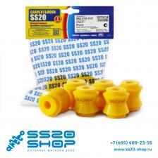 Полиуретановые втулки реактивной тяги (малые) SS20 для ВАЗ 2123 Niva Chevrolet (6 шт)