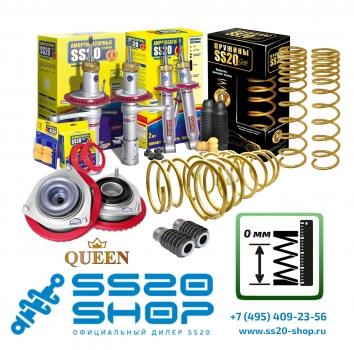 Комплект подвески GOLD Progressive без занижения для ВАЗ 2113-2115 с опорой Queen