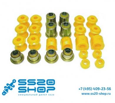 Комплект полиуретановых сайлентблоков SS20 для ВАЗ 2121-31 Нива 4х4
