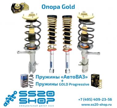 Комплект подвески в сборе SS20 с опорой Gold и пружинами Gold для ВАЗ 1117-1119 Калина